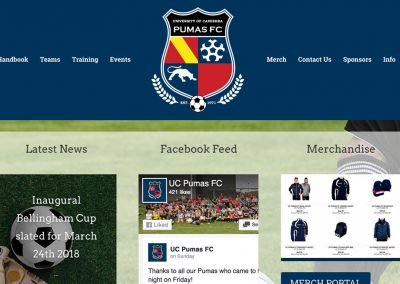 UC Pumas Website